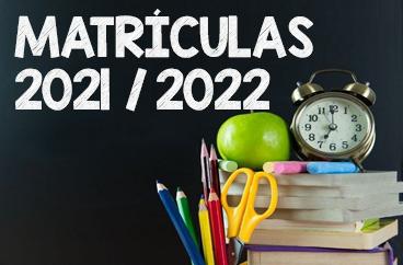 Matrículas 2021 /2022